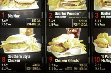 large big mac meal price 2012