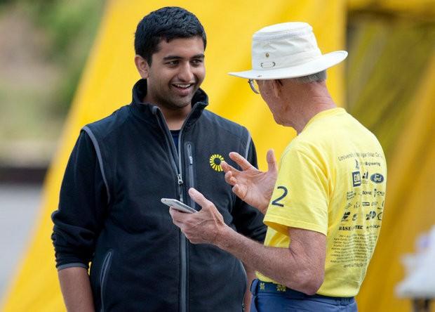 U-M Solar Car Team stops in Grand Haven