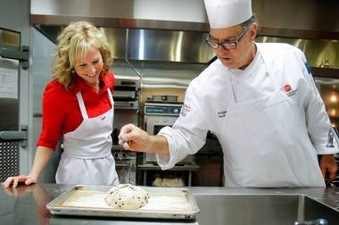 """Michigan's Best Pie: What makes a great pie? Heather Lynn Peters of the Muskegon Chronicle loves to cook, but doesn't have the patience to bake. She asked Chef Bruce Konowalow, dean of Culinary Arts at the Culinary Institute of Michigan, who says: """"Great ingredients, care and respect for the preparation of each component of the pie."""""""
