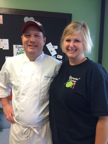 Grandville residents Mike and Cathy Burns recently opened the restaurant Burnzies at 3097 30th St.