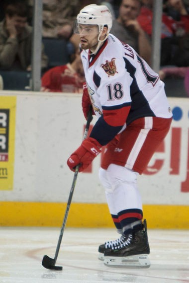 Brian Lashoff returned to the Griffins for the first time since the Calder Cup Trophy season of 2012-13.