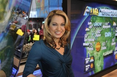"""Grand Rapids native Ginger Zee, who has been weekend weather anchor on """"Good Morning America"""" for two years, has been promoted to be weekday meteorologist on ABC-TV's morning show. (Photo courtesy ABC-TV)"""