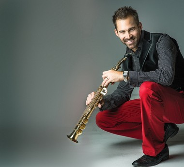 GRandJazzFest two-time headliner, saxophonist Phil Denny, returns to Grand Rapids on Mon. Dec. 9 for a show featuring music from his recently released holiday CD. (Courtesy photo)