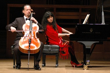 Co-artistic directors David Finckel and Wu Han of the Chamber Music Society of Lincoln Center will return to Grand Rapids this season for St. Cecilia Music Center's 2014-15 Chamber Music Series opening Nov. 7.