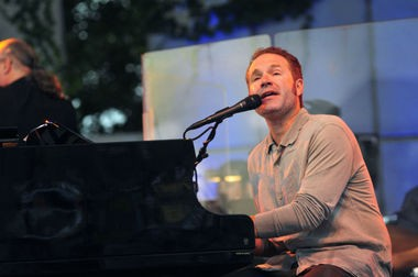John Ondrasik, better known as Five for Fighting, appeared at Meijer Gardens in August 2012. (Katy Batdorff | MLive.com)