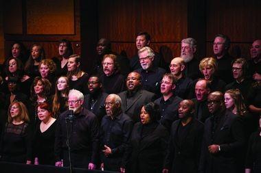 GR Symphony community Chorus at the 2016 Symphony with Soul performance