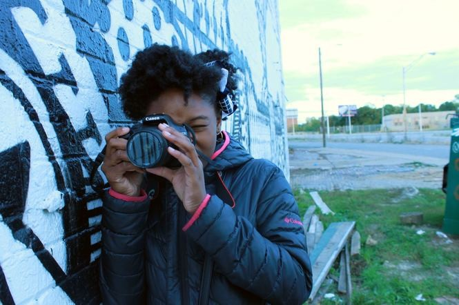 The Excel Photography Program through Focus: HOPE in Detroit provides educational opportunities for youth thanks to NEA support.
