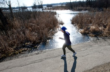 A new iPhone app designed by Michigan State University Students aims to help runners stay on pace.