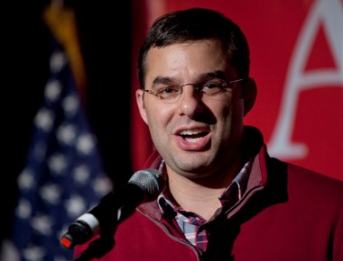U.S. Rep. Justin Amash is getting criticism from political conservatives and liberals for his comments on marriage.