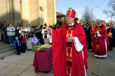 Grand Rapids Bishop Walter A. Hurley is retiring. His successor will be announced Thursday, April 18.