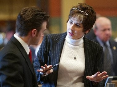 Sen. Judy Emmons, R-Sheridan, is set to speak at a Catholic Diocese of Grand Rapids symposium on the topic of human trafficking.