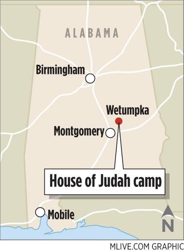House of Judah encampment in Wetumpka, Ala.