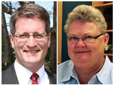 Steven Kepley and Sharon Brinks