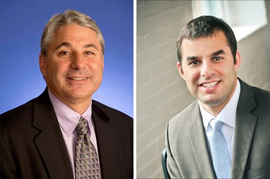 Grand Rapids businessman Brian Ellis and U.S. Rep. Justin Amash, R-Cascade Township