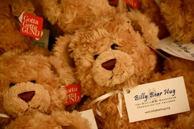 Billy Bear Hug Foundation is donating teddy bears to children who take part in grief and cancer support programs at Gilda's Club Grand Rapids.