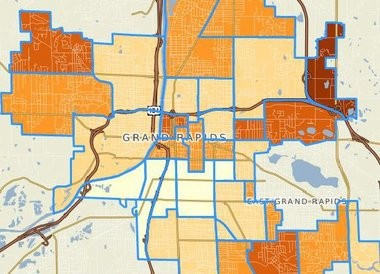 Community Profiles 2.0, a project of The Johnson Center for Philanthropy at Grand Valley State University, lets users compare housing and economic data from Grand Rapids neighborhoods.