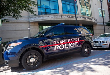 Grand Rapids police acted appropriately by stopping a man who had a holstered pistol outside of church, city attorney says in response to a lawsuit.
