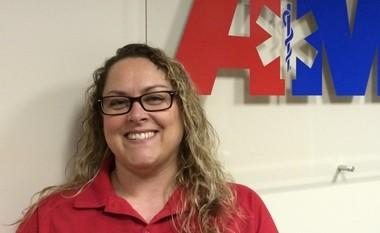 AMR dispatcher Jennifer Gort