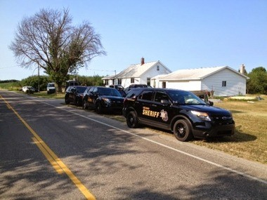 Two people were arrested on a charge of maintaining a drug house, the Leelanau County Sheriff's Department reported Friday, July 25.