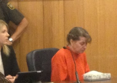 Kelli Stapleton and attorney Heidi Hodek in court on Monday, Oct. 6.