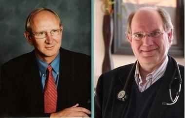 Leading Trillium Institute: Ken Hekman, executive director, left; and Dr. John Mulder, medical director.