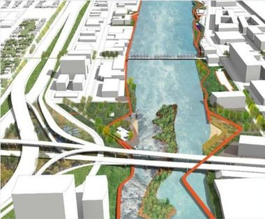 A city steering committee has reported its recommendations on a Grand Rapids whitewater project.