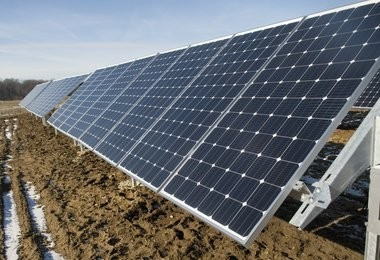 Grand Rapids is working with an out-of-state company on installing solar panels at the former Butterworth landfill.