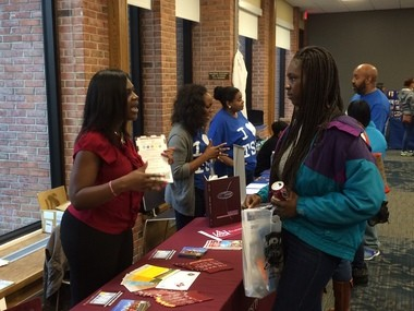A college fair highlighting historically black colleges and universities was hosted Saturday, Oct. 24, at Grand Rapids Community College.