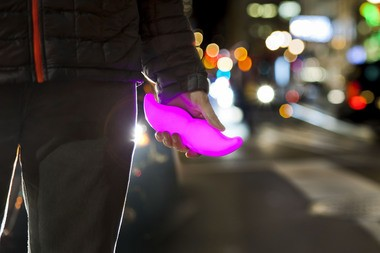 """The ride-sharing service Lyft and its """"glowstache"""" is starting service in Grand Rapids on Thursday, July 28."""