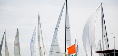 A captain has sued another over a Lake Michigan crash during a Holland regatta.