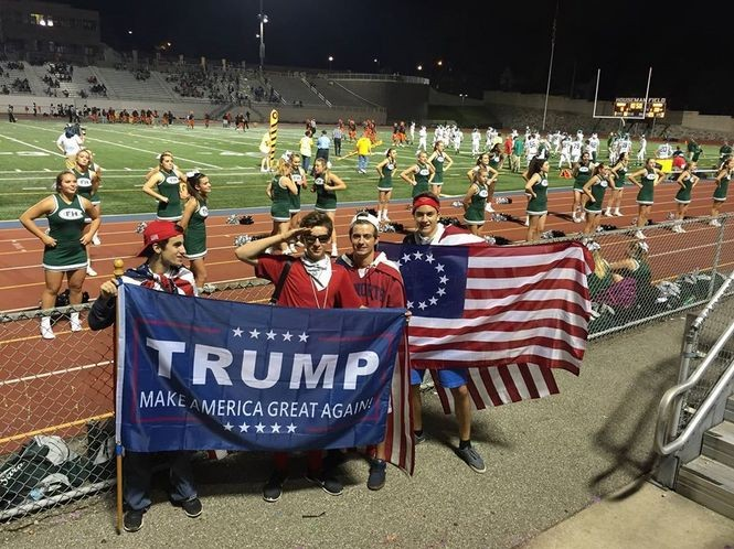 A Grand Rapids Public Schools parent, Matthew Patulski, captured this image at the Friday, Sept. 9 football game between Ottawa Hills and Forest Hills Central