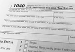The IRS 1040 form is the basic form used by individuals to file annual federal tax returns in the United States.