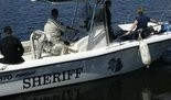 A Howell man's leg was amputated when he was run over by a boat Sunday, June 17, in Gun Lake.