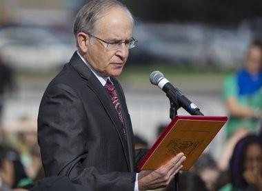 Ferris State University President David L. Eisler.