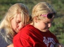 Kelli Stapleton and her daughter, Isabelle.