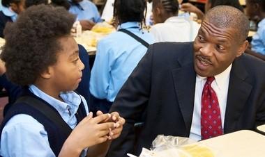 Education Achievement Authority Chancellor John Covington was previously superintendent of Kansas City, Mo. public schools.