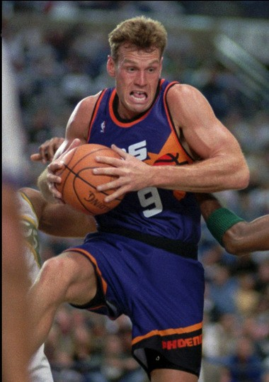 f8f042970d4 Dan Majerle is a head basketball coach at Grand Canyon University. Majerle  played 14 years