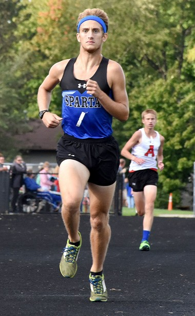 Sparta senior Tommee Smith clocked the fourth-fastest time in school history recently, running a 16:11 at the Otsego Invitational.