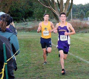 Josh Oom logged 320 miles over the summer to prepare for his high school debut, and he has since clocked the second-fastest time for a freshman in Caledonia school history.