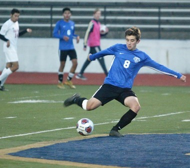 Senior captain Cody Russell anchored the defense for the West Michigan Aviation Academy this season.