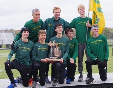 After failing to qualify for the last two state meets, the Calvin Christian boys have earned the No. 4 state ranking in Division 3, while collecting their 11th consecutive OK Silver crown. (Supplied photo)