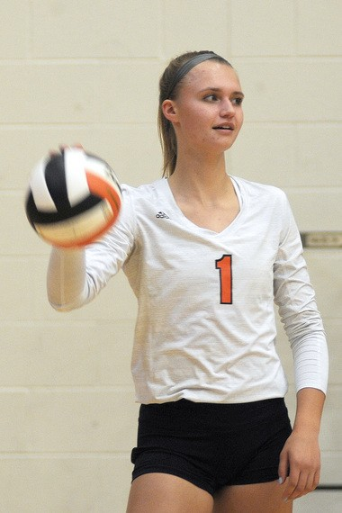 Rockford senior Lindsay Taylor broke school records for kills in a season and kills in a match, while earning third-team All-American honors.