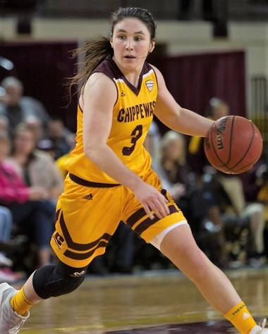 Wayland graduate Presley Hudson is third on Central Michigan's all-time scoring list.