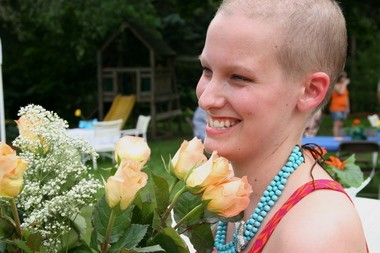 Amanda Winn is a cancer survivor.