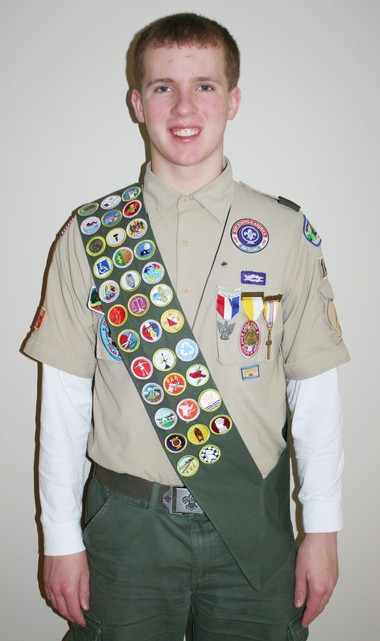 Jacob Hooper has completed the requirements for the rank of Eagle Scout.