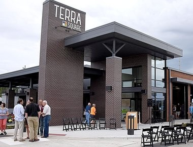 The city of Hudsonville plans to add 40 more parking spaces and improve traffic flow near the new Terra Square facility.