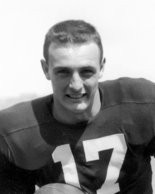 Here is a portrait of Jim Morse from his Notre Dame playing days.