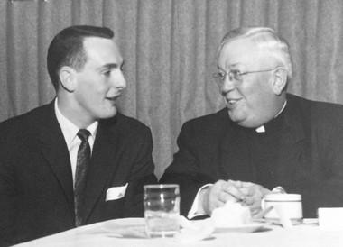 Jim Morse (left), December 3, 1957.