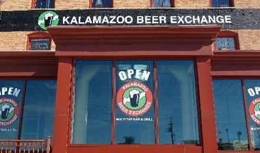 The Kalamazoo Beer Exchange in downtown Kalamazoo is pictured here.
