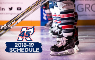 The Kalamazoo Wings have released the schedule for the 2018-19 season, marking the 45th season of professional hockey in Kalamazoo.